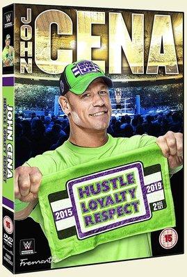 [美國瘋潮]正版WWE John Cena Hustle Loyalty Respect DVD CENA三信念賽事精選
