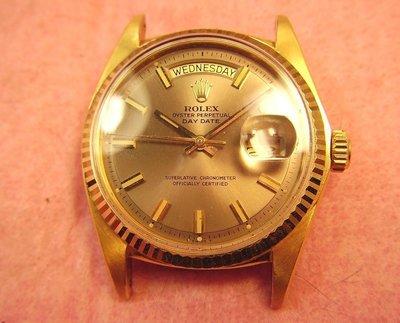 Rolex勞力士特殊面 1803 DAY-DATE ~ 18K金古董錶