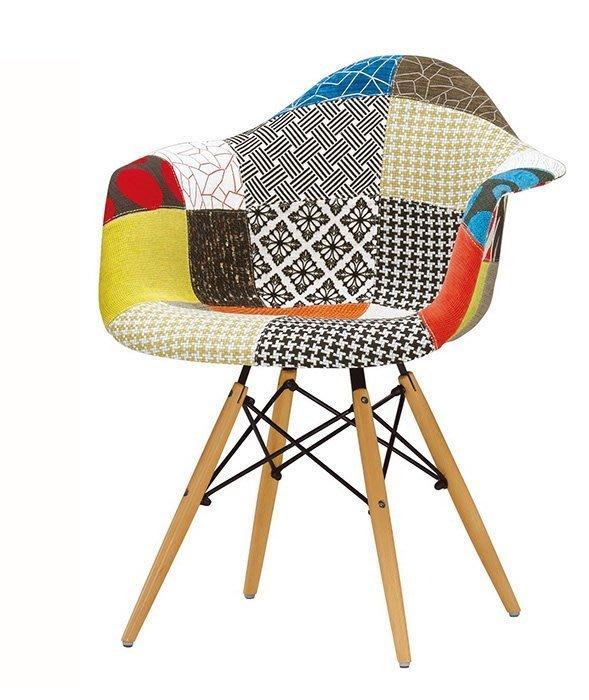【DH】商品編號G1027-4蒂柏艾餐椅/布(圖一)居家/休閒/工商洽談椅/營業用。多方位使用。主要地區免運費