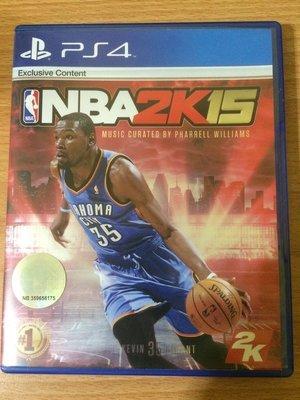 PS4 NBA 2K15 繁體中文版 二手 可取貨付款