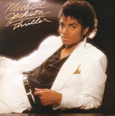 麥可傑克森MICHAEL JACKSON 顫慄THRILLER 無IFPI CD (外圈有刮.播放OK)