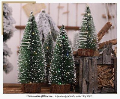 20公分可愛小聖誕樹**發光針葉松樹