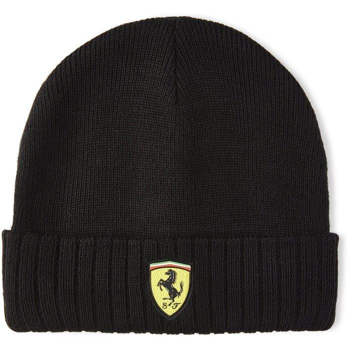 Scuderia Ferrari F1黑色毛帽