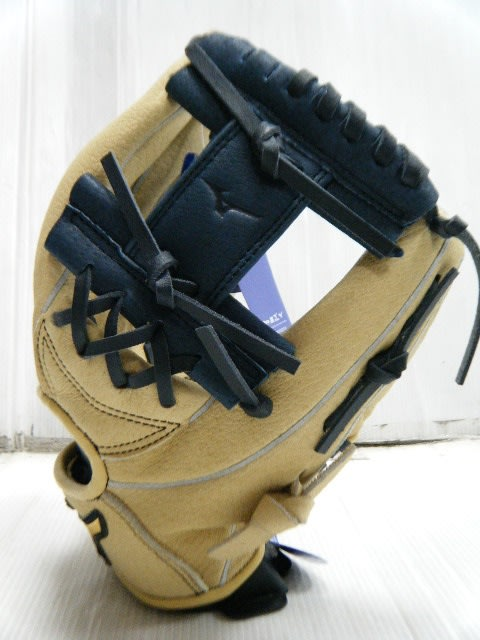 新莊新太陽 MIZUNO 美津濃 POWER CLOSE 312804  R  兒童 少年 棒球手套 工字 米白色/深藍