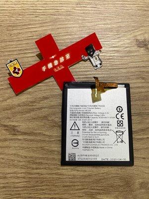 手機急診室 NOKIA 8 電池 耗電 無法開機 無法充電 電池膨脹 現場維修