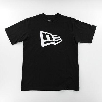 New Era Classic Logo Black T-Shirt NE經典Logo 標誌黑色短袖踢