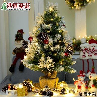 聖誕樹 聖誕裝飾 落雪圣誕樹桌面盆栽松針樹裝飾品擺件家用網紅圣誕派對用品全館免運價格下殺