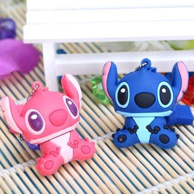 史迪奇系列=超Q造型隨身碟 USB 8G 迪士尼卡通 電影動漫 送小孩禮物 創意實用兼具