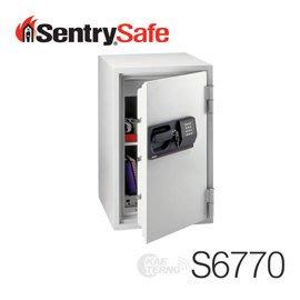 【皓翔居家安全館】Sentry Safe 美國金庫 電子式商務防火金庫(中)S6770
