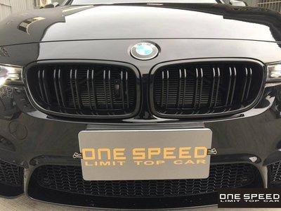 【耀天國際】BMW F30 F31 318 320 328 335 M3款 鋼琴烤漆黑水箱罩
