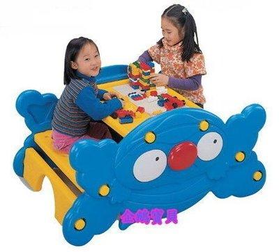 @企鵝寶貝@ 螃蟹造型兩用桌椅、搖搖椅...