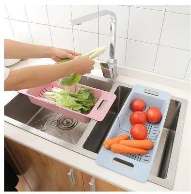 朵拉媽咪【全新現貨 回饋價】可伸縮 廚房水槽 瀝水架 小麥秸稈 廚房瀝水架 餐具瀝水架 蔬菜水果瀝水架 洗蔬果架 尺寸請