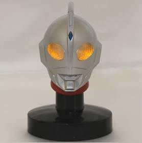 日版盒玩 超人力霸王 鹹蛋超人 光之巨人 發光頭像 2代 ~單賣:編號05(含發光燈座)