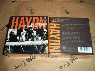 【小馬哥】海頓 弦樂四重奏全集 風神弦樂四重奏 22CD 台北市