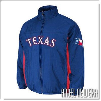 【ANGEL NEW ERA】MLB Majestic 德州遊騎兵 限量進口球員外套 最後數量~