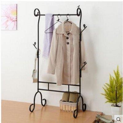 【優上】鐵藝衣帽架日式落地簡易衣櫃臥室內晾衣架服裝店衣架