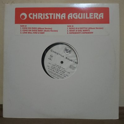 Christina Aguilera 同名專輯 初回限定高音質黑膠唱片 come on over Accelerate