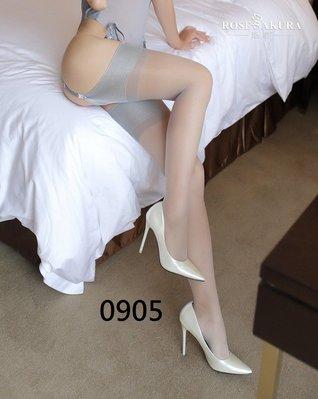 性感睡衣 灰色大腿襪長襪絲襪 吊襪帶 角色扮演 四色0905