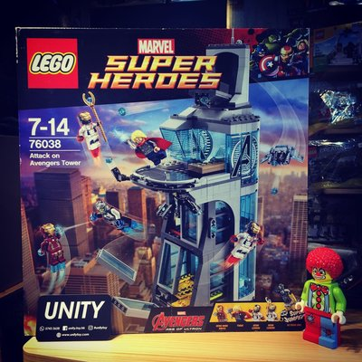 Lego 76038 Marvel Attack on Avengers Tower (Unity Toy)