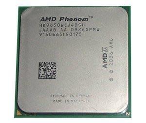 【含稅】AMD Phenom X4 9650 2.3G HD9650WCJ4BGH 四核四線 95W 正式CPU 一年保