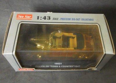 SUN STAR 1/43 合金車10021 chryslerbtown&country 1947
