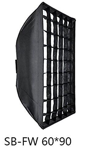 呈現攝影-Godox SB-FW60 柔光罩 60x90cm 附蜂罩網格 Bowens卡口 無影罩 閃燈 方罩 棚燈