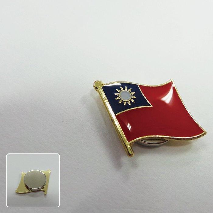 【國旗創意生活館】吸鐵式-台灣徽章100入組/中華民國/Taiwan