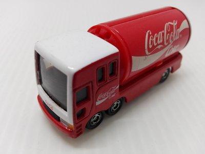 TB7 Tomica Cocacola 可口可樂 貨車 多美小汽車 合金車(03