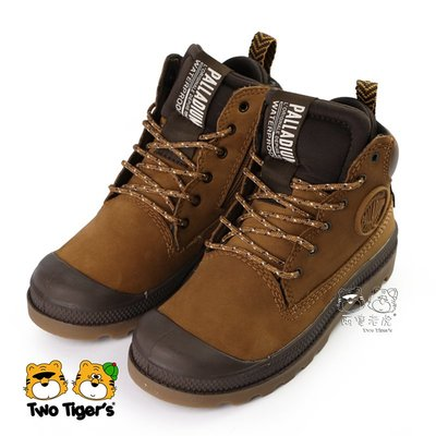 Palladium PAMPA SC OUTSIDER 防水童靴 深棕 側拉鍊 中童鞋 NO.R4826