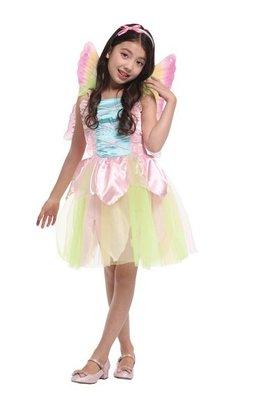 乂世界派對乂萬聖節服裝,萬聖節裝扮,,兒童變裝服-粉彩花仙子
