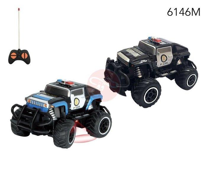 【W先生】1:43 1/43 迷你 小型 遙控車 悍馬車 警車 遙控玩具