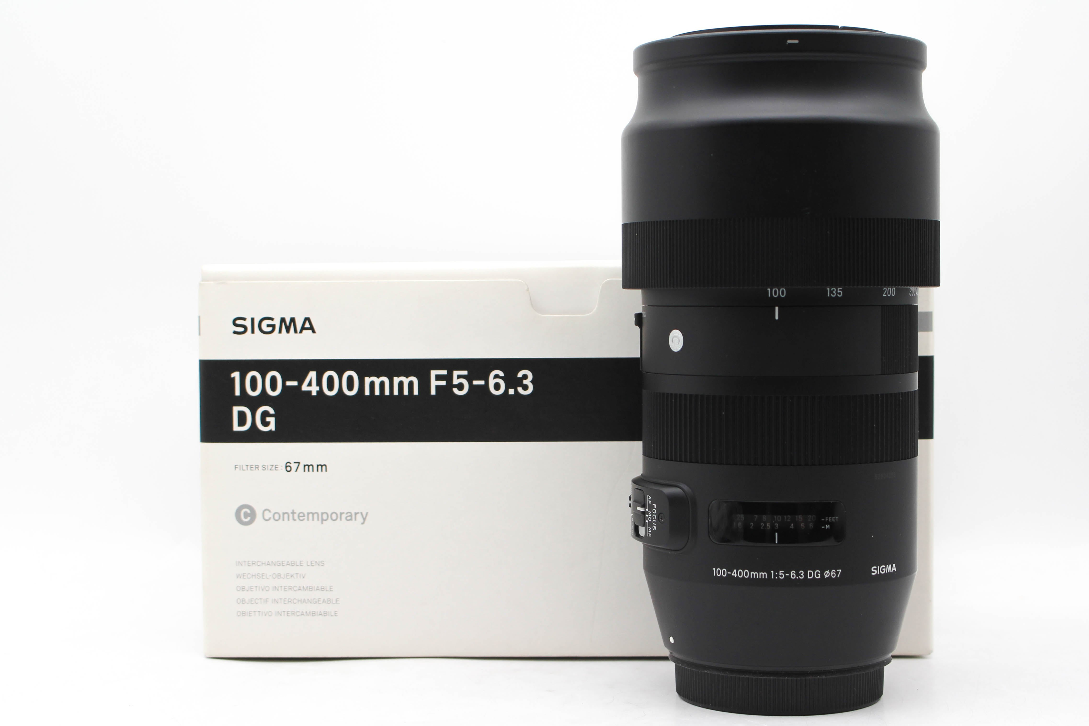【高雄青蘋果3C】Sigma 100-400mm f5-6.3 DG OS HSM for Canon #47874