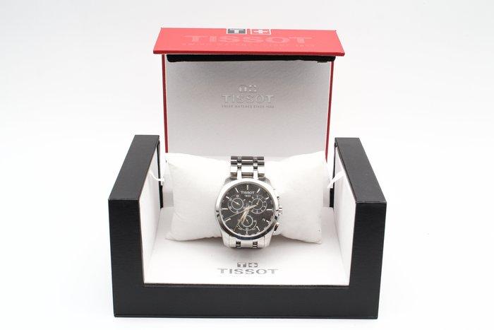 【高雄青蘋果3C】TISSOT 天梭Couturier 建構師系列計時錶-黑 T0356171105100 #25587