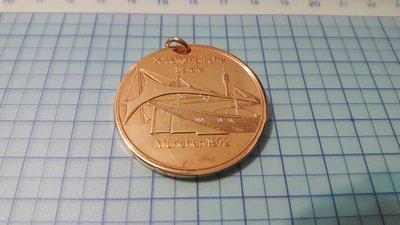 4182日本發行1972年德國慕尼黑奧運紀念銅章