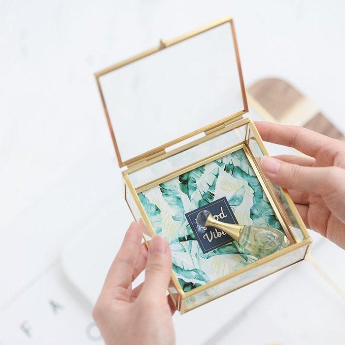 MAJ.POINT-韓式 收納盒 玻璃盒 飾品髮飾 拍照道具 商品代購 現貨+預購
