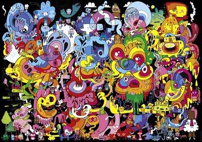 歐洲進口拼圖 HEYE 塗鴉藝術 幻覺 Jon Burgerman 4000片拼圖 29578