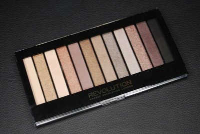【愛來客】英國Makeup Revolution ICONIC 2眼影盤 帶珠光及啞光 平價版Naked2