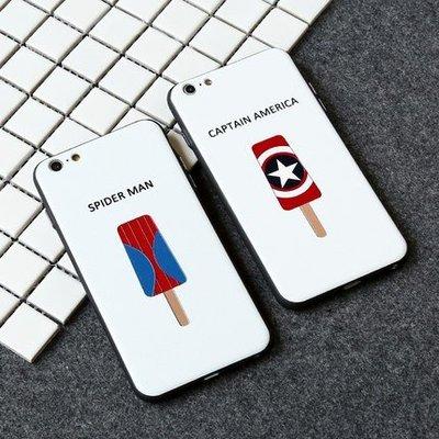 citycase 蘋果6plus手機殼6s超級英雄個性簡約iphone6全包矽膠套