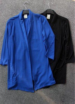 出清美國外大牌七分袖上衣外套Size:L只有藍色