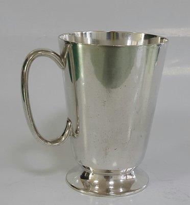 452高檔英國鍍銀茶杯Vintage Silverplate Ornate teamug (約 11cm)