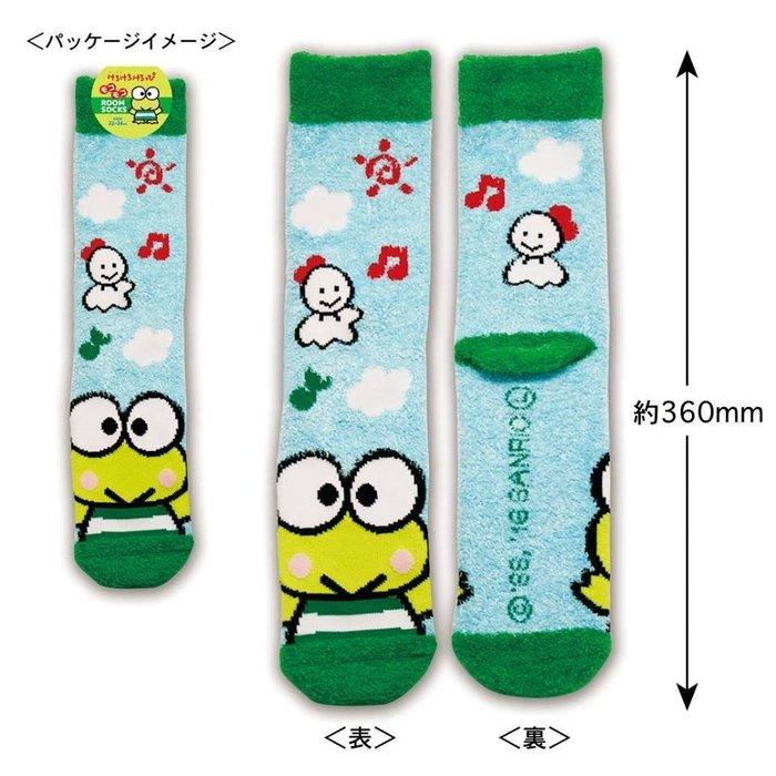 41+ 現貨免運費 襪子 三麗鷗系列 羽毛紗 保暖襪 地板襪  大眼蛙  小日尼三