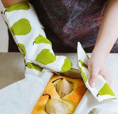 隔熱手套芬蘭marimekko oven mitten 防燙隔熱手套 微波爐手套 純棉@li63682