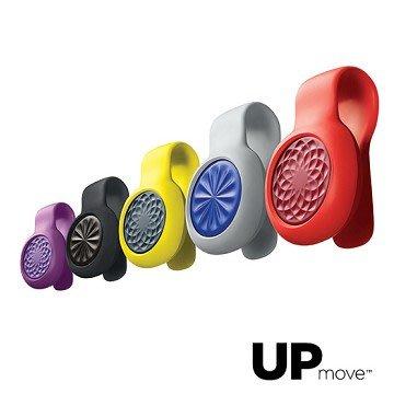 Jawbone UP MOVE 無線時尚智慧手環 享受並體驗健身、減磅的樂趣 (黑色黑環/藍色灰環)
