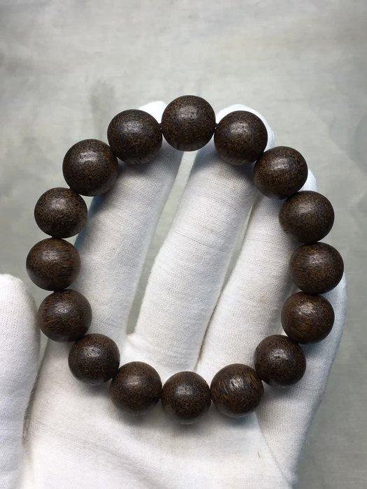 新款越南芽莊沉香手鍊1.3 cm