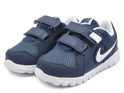 =CodE= NIKE FLEX EXPERIENCE LTR TDV 魔鬼氈學步鞋(藍白)631497-401小童嬰兒