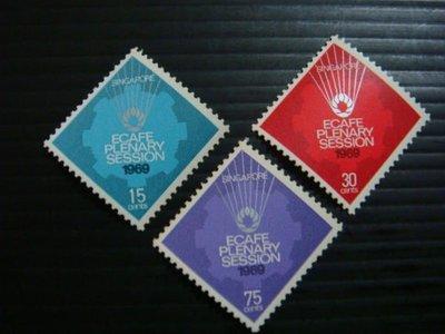 【大三元】新加坡郵票- SP19晶技委員會郵票~1969年發行~新票~~原膠3全1套