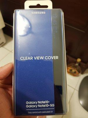 三星 Samsung Galaxy Note10+ 原廠 全透視 感應 智能 皮套 保護套 NOTE10 PLUS