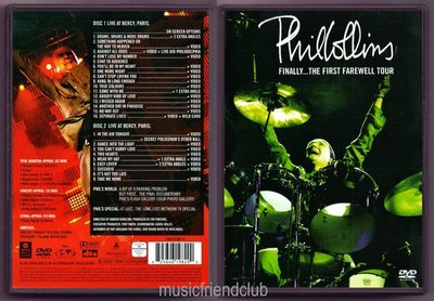 Phil Collins - Finally The First Farewell Tour (2DVD)@XI31227