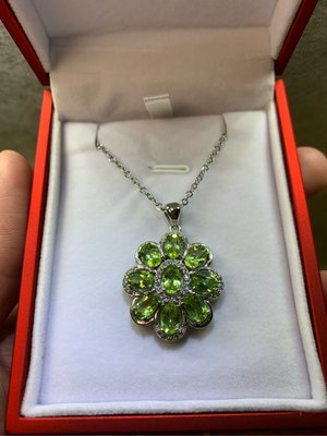 橄欖綠寶石項鍊