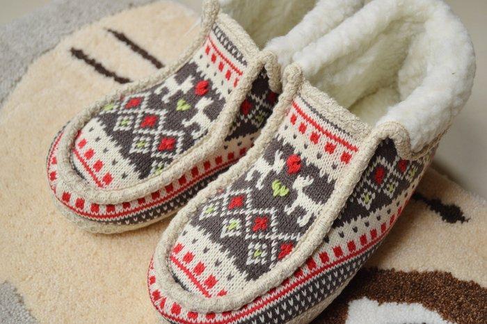 全館八折 滿2仟七折~日本帶回 amis 北歐風 保暖 針織細織紋 居家鞋 室內鞋☆Ling 日本雜鋪